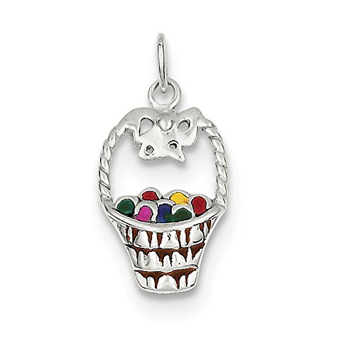 Sterling Silver Enameled...