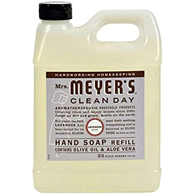 Mrs. Meyer's Liquid Hand Soap Refill Lavender, 33 FL OZ