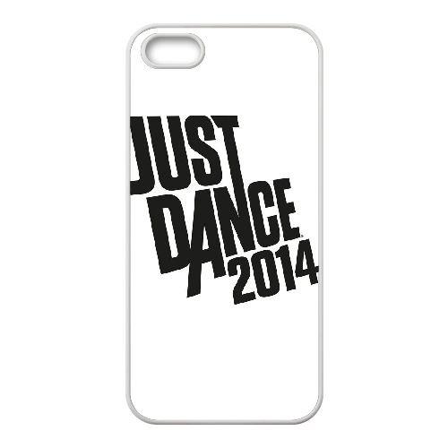 V7Q77 Just Dance W1V1HK coque iPhone 4 4s cellule de cas de téléphone couvercle coque blanche KT6GTN1QP