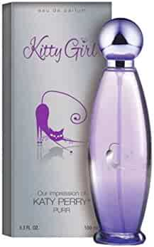 KITTY GIRL, 3.3 Fl.Oz Eau De Parfum Spray for Women, Perfect Gift, Vanilla and Fruity, Daytime & Casual Use, for all Skin Types, A Classic Bottle