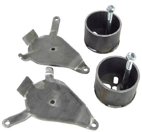 WnP Front Airbag Mounting Brackets for Chevy S10 Air Ride Suspension