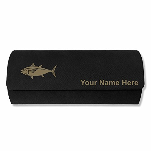Eyeglass Case - Tuna Fish - Personalized Engraving Included - Eyeglass Case Personalized