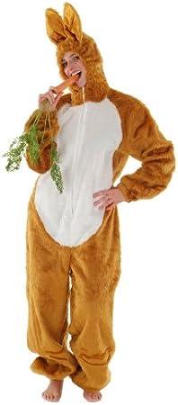 Disfraz de conejo marrón en tamaño XL para despedidas de soltero ...