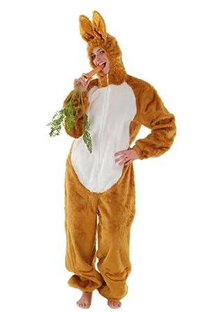 Disfraz de conejo marrón talla L: Amazon.es: Juguetes y juegos