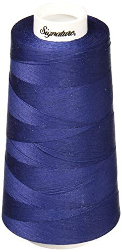 Signature 3 Ply Cotton Quilting Thread, 40wt/3000 yd, Sapphire