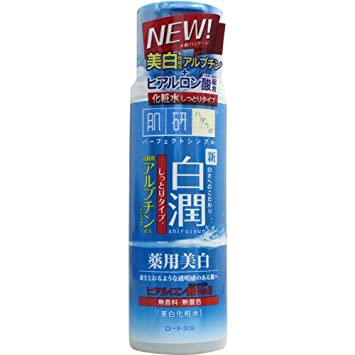 Rohto skin Research HakuJun medicated whitening lotion moist type (170mL)