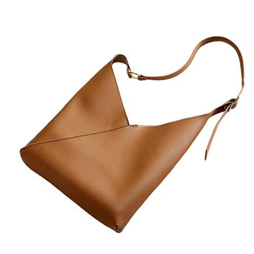 Messenger Bag Crossbody Brown Sunward Lady Purse Fashion Women Handbag Women Vintage Slim 2018 Shoulder Ov1xvqP8wf