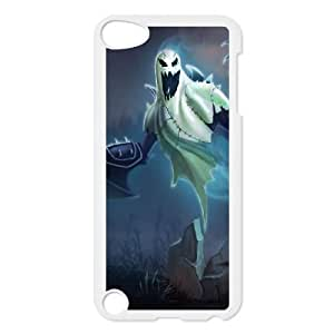 iPod Touch 5 Case White League of Legends Haunting Nocturne EUA15978996 Phone Case For Women Plastic