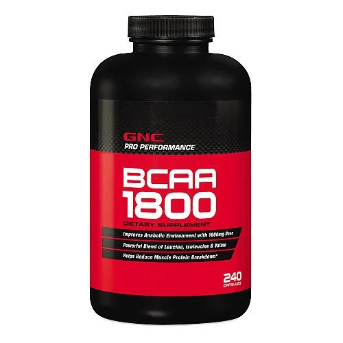 GNC Pro Performancereg Branched Chain Amino Acids 1800 240 Softgel Capsules