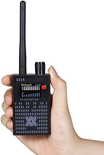 Hangang - Detector de señal de amplificación antiespía (RF Spy Bug, inalámbrico, detector de frecuencia, GSM, CDMA)