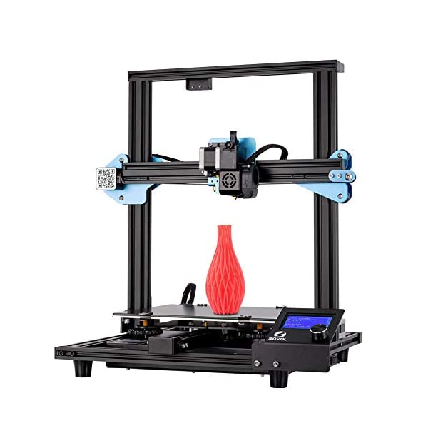 Sovol SV01 3D Printer 95% Pre-Assembled with Direct Drive Extruder Meanwell Power Supply and Glass Plate Built-in Thermal Runaway Protection 240x280x300mm …