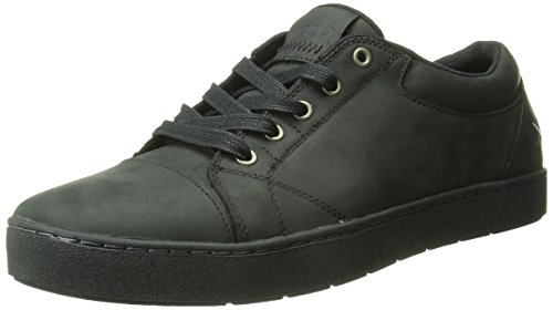 MOZO Men's Maverick Slip Resistant Sneaker, Black, 8.5 M US