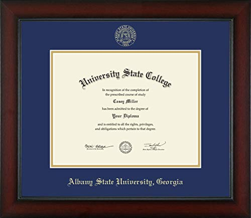 Albany State University in Georgia - Officially Licensed - Gold Embossed Diploma Frame - Diploma Size 11