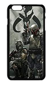 Top Design Classical Tv Show Star Wars Character Boba Fett Case for Iphone 6 Plus(5.5 inch)