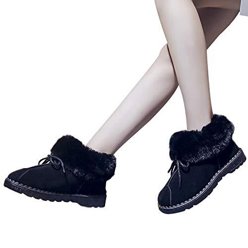 À 43 Noir Daim Classiques Femmes Bottes Plates Talon nbsp;bottes Plat Lacets 35 Kaiki Pour Courtes taille Bottines En Sauvages Sauvages UnIq8wHxAg