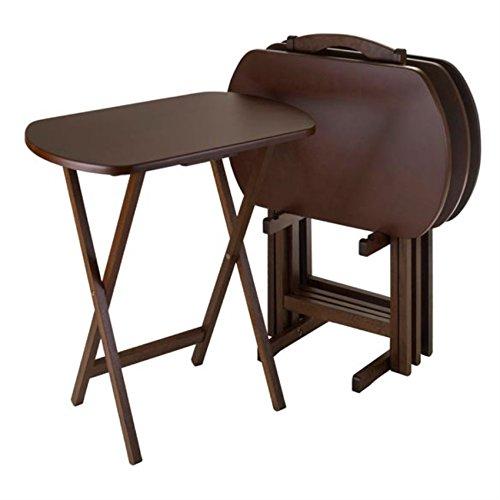 Ergode Corbett 5-Pc Oversize Oblong Snack Table Set