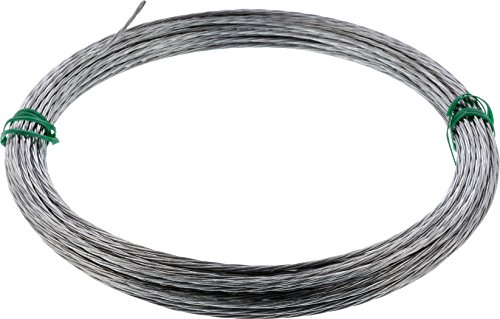 Hillman 122063 Galvanized Stranded Wire 4 Strand 100 Ft