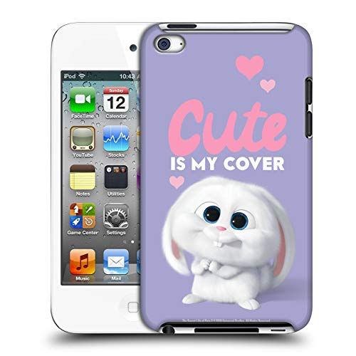 Official The Secret Life of Pets 2 Snowball Rabbit Bunny Cute II for Pet's Sake Hard Back Case Compatible for Apple iPod Touch 4G 4th Gen (Bunny Case Ipod 4)