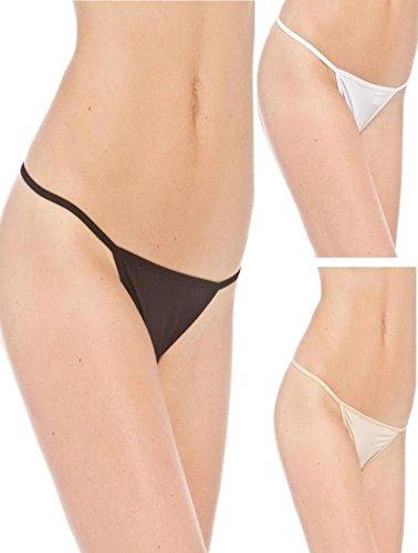 Prestige Biatta Women's Microfiber G-String Panty-Large-Multi