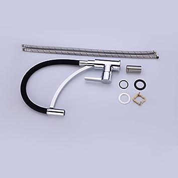 Ablauf Ablaufgarnitur Siphon+Pop Up Ablaufventil Badarmatur f/ür Waschbecken Waschtisch Messing Chorm OM1004