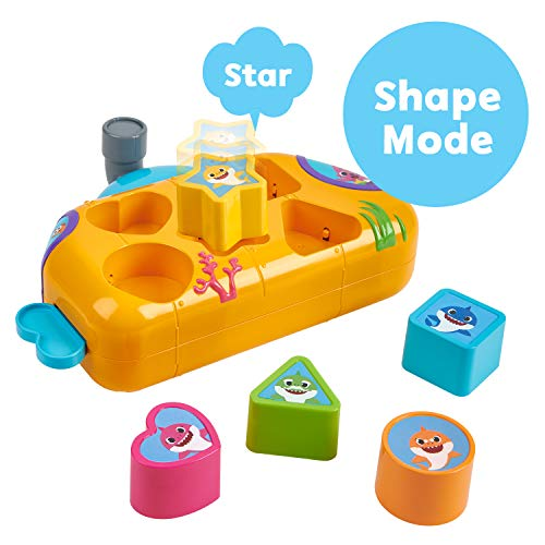 41hsTuvexyL - WowWee Pinkfong Baby Shark Melody Shape Sorter - Preschool Toy