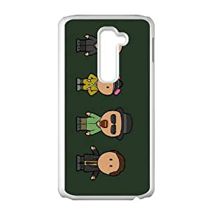 LG G2 Cell Phone Case White Breaking Bad A RQA Personalised Phone Case