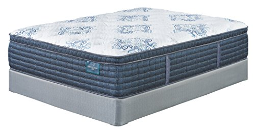 Ashley Furniture Signature Design - Sierra Sleep - Mt. Dana Euro Top Queen Mattress - White