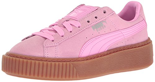 PUMA Girls' Suede Platform Jr Sneaker, P - Suede Platform Shoe Shopping Results