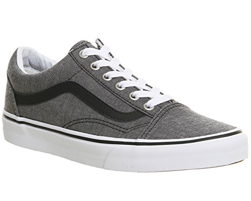 black Vans Mixte Chaussures Skool C Old amp;l chambray Adulte 8qqBnAH
