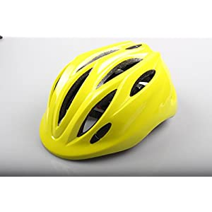 Children Helmet Mini Ultralight Bicycle Secure & Safety Headguard Adjustable Baby Kids Bike Protective Harnesses Cap for Outdoor/Indoor with Light Yellow