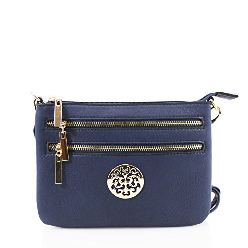 Celeb Size Bags Cross For Handbags Women Small Bag 423 Shoulder Navy Body 388 Style Nice Leahward Ladies zS5wTqx