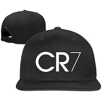 GlyndaHoa Runy Custom CR7 Logo Adjustable Baseball Hat & Cap Black
