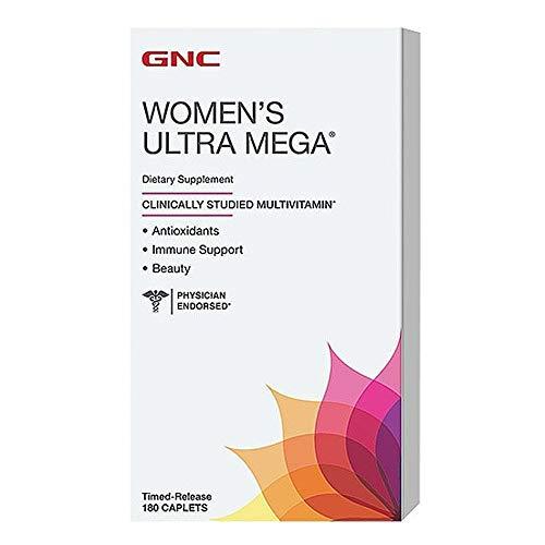 GNC Womens Ultra Mega Energy and Metabolism Multivitamin for Women