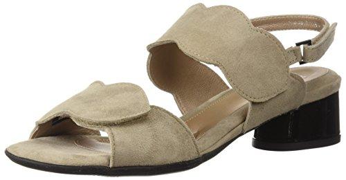 BeautiFeel Women's Elsie Sandal, Tahini Suede, 390 M EU (8 (Beautifeel Sandals)