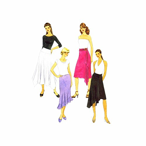 (Misses Skirt in Three Lengths McCalls 4882 Sewing Pattern Size 4 - 6 - 8 - 10 - 12 - 14)