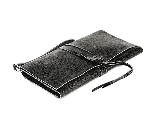 DJB/Leder Clutch Man Tasche für Männer um das Seil Gurt Finger Header Schicht aus Leder City Boy