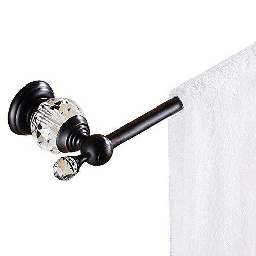 Nokozan Luxury Crystal Series Bathroom Double Towel Bar Wall Mounted, 60CM(23.62 inch) by Nokozan