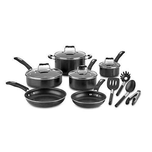 Cuisinart 14 Piece Non Stick Aluminum Cookware Set