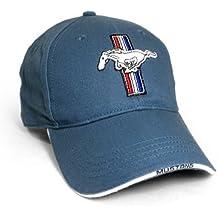 Ford Mustang Logo Blue Baseball Hat