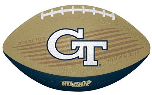 Rawlings NCAA Georgia Tech Unisex 07903026111NCAA Downfield Youth Football (All Team Options), Yellow, One Size