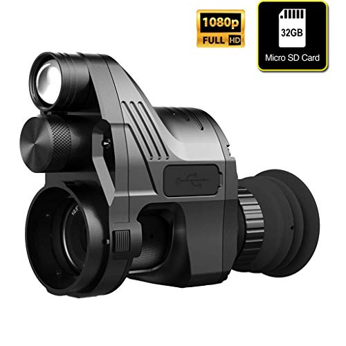 ALZERO Infrared Night Vision Riflescope Pard (4x-28x) NV007 200M Range Digital Hunting Night Vision Scope Cameras Video with WiFi Function