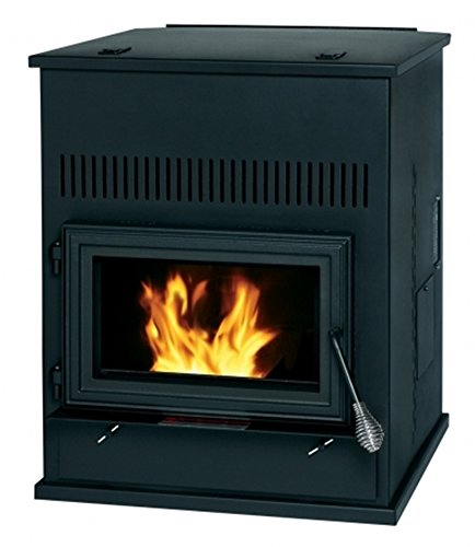 Summers Heat 55-SHPAH Pellet Auxiliary Heater Stove 2,000 Square Foot