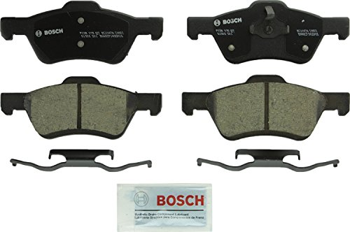 Bosch BC1047A QuietCast Premium Ceramic Disc Brake Pad Set For 2010-2012 Ford Escape and 2010-2011 Mercury Mariner; Front