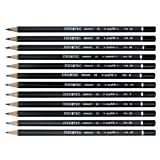 6 Pack GRAPHITE PENCILS SET/12 6B-4H Drafting, Engineering, Art (General Catalog)
