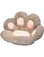 Nedyet Cat Claw sittkudde, vinter plysch katt claw kudde, kreativ plysch tass kudde, varm mjuk sittdyna stoldyna, soffa rygg kudde tuppkudde kudde leksak gåva 7060 cm