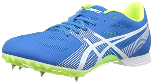 Asics Hyper MD 6, Zapatillas de Atletismo Unisex Adulto Azul (Diva Blue / White / Aqua Splash)