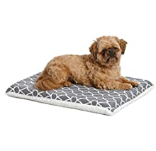 MidWest Homes for Pets Quiet Time Teflon Defender Dog Beds; Pet Beds Designed to Fit Folding Metal Dog Crates