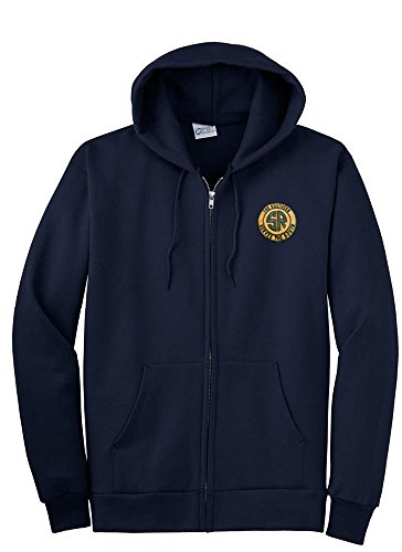 Daylight Sales Southern Railway Zippered Hoodie Sweatshirt Navy Adult XL [27]