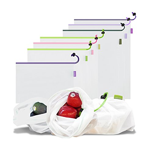 Reusable Produce Mesh Bags ,Nut Milk Almond Bag,Laundry Clot