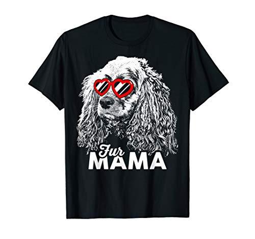 - Cute Cocker Spaniel Fur Mama T-Shirt